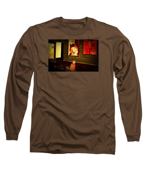 Midnight With Pablo Long Sleeve T-Shirt by Bill OConnor