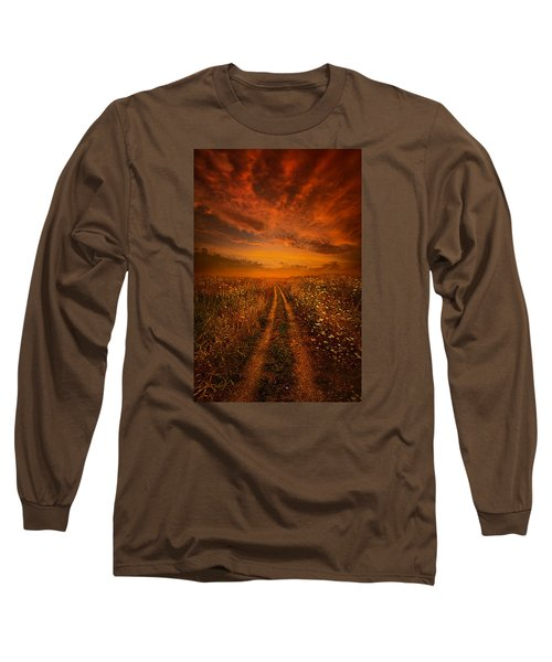 Long Sleeve T-Shirt featuring the photograph Miles And Miles Away by Phil Koch