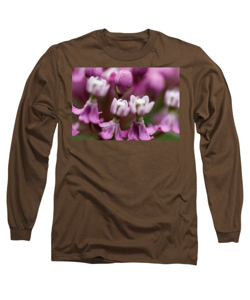 Milkweed Macro Long Sleeve T-Shirt