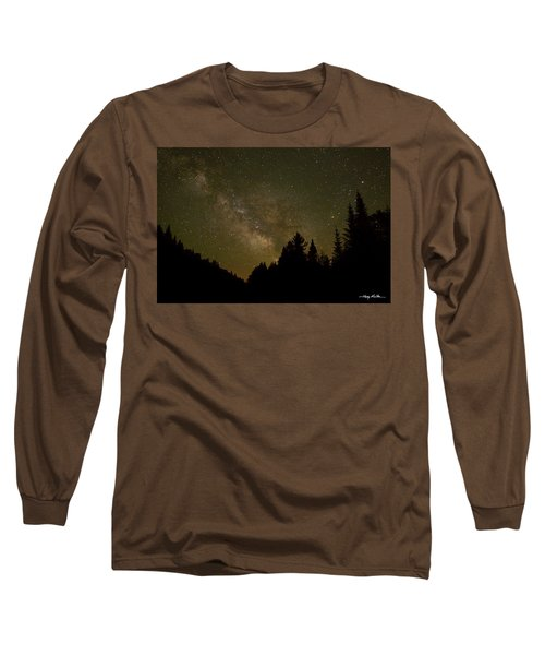 Milky Way In The Whites Long Sleeve T-Shirt