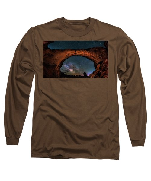 Milky Way Under The Arch Long Sleeve T-Shirt