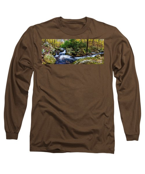 Mill Creek In Fall #4 Long Sleeve T-Shirt