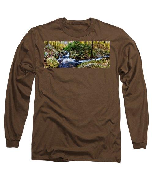 Mill Creek In Fall #4 Long Sleeve T-Shirt