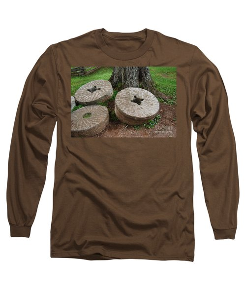 Mill Stone Long Sleeve T-Shirt by Eric Liller