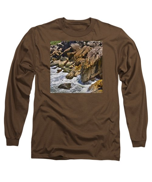 Brazilian Sea Cliffs - Guaruja - Sao Paulo Long Sleeve T-Shirt