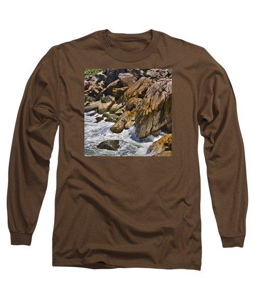 Brazilian Sea Cliffs - Guaruja - Sao Paulo Long Sleeve T-Shirt