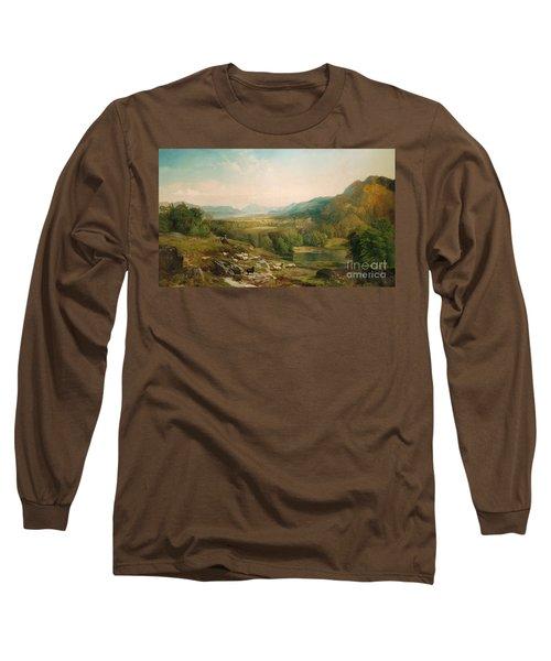 Minding The Flock Long Sleeve T-Shirt