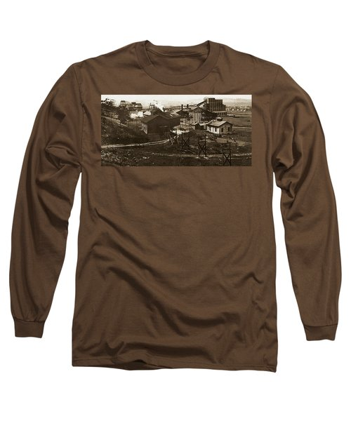 Mineral Springs Colliery Parsons Gravel Hill Scranton Patch Area Of Wilkes Barre Pa 1913 Long Sleeve T-Shirt