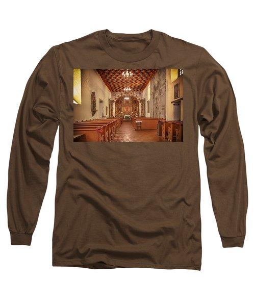 Mission San Francisco De Asis Interior Long Sleeve T-Shirt