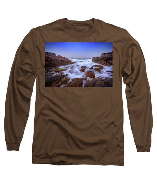 Misty Dawn At Giant's Stairs Long Sleeve T-Shirt