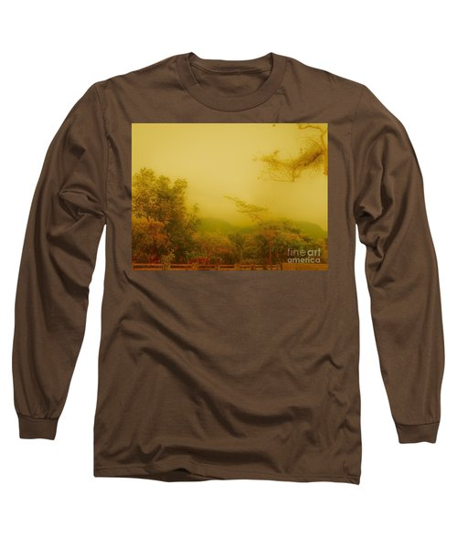 Misty Yellow Hue- El Valle De Anton Long Sleeve T-Shirt