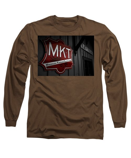 Mkt Railroad Lines Long Sleeve T-Shirt