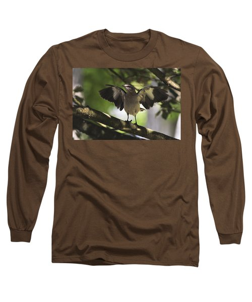 Mockingbird  Long Sleeve T-Shirt by Terry DeLuco