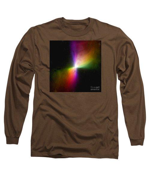 Modern Art- The Boomerang Nebula - Heavenly Bodies Long Sleeve T-Shirt