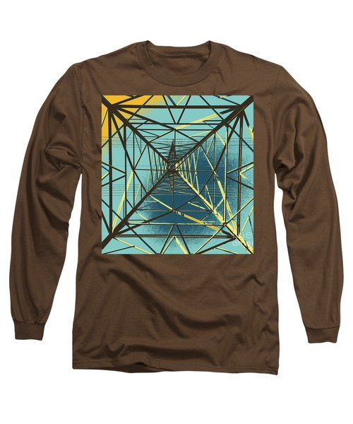 Modern Pyramid Long Sleeve T-Shirt