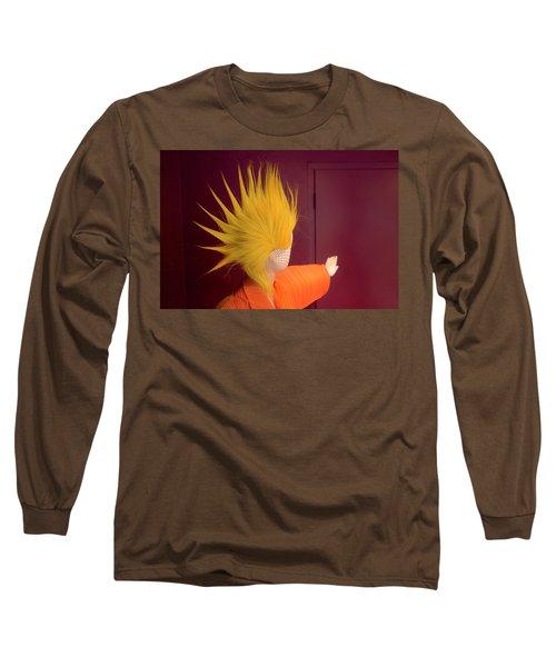 Mohawk Long Sleeve T-Shirt by Scott Meyer