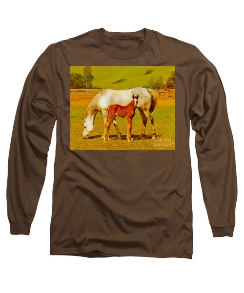 Mom And Me Long Sleeve T-Shirt
