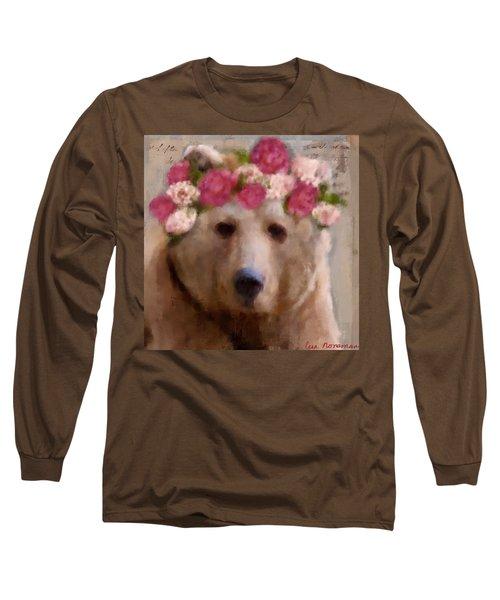 Momma Bear Long Sleeve T-Shirt by Lisa Noneman