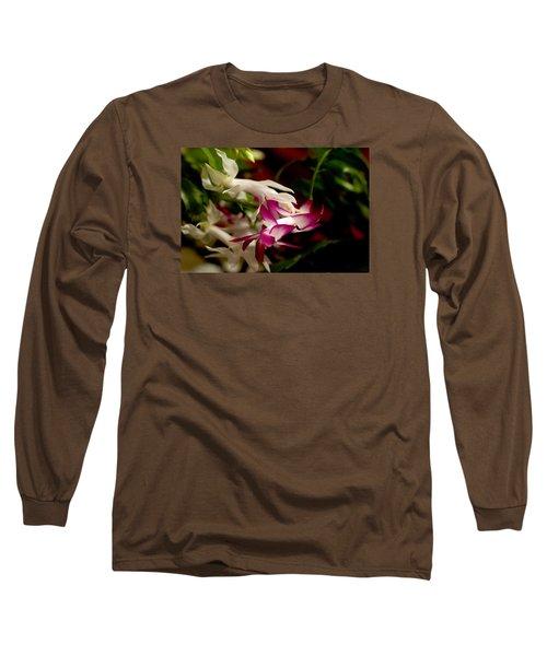 Momma's Christmas Cactus Long Sleeve T-Shirt