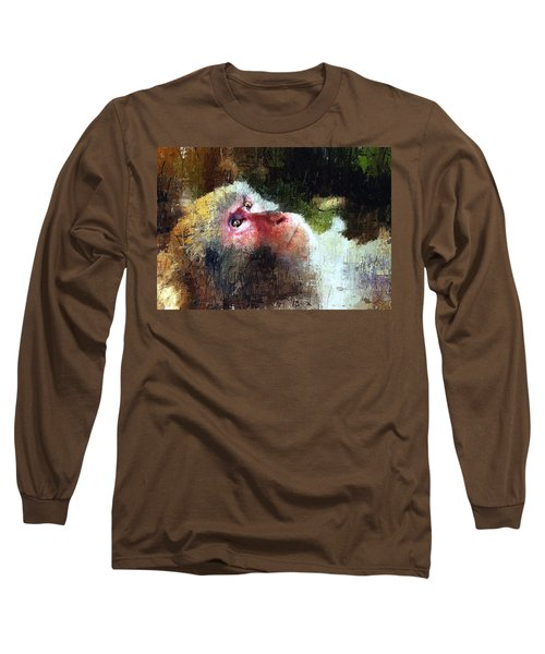 Monkey Wisdom Long Sleeve T-Shirt