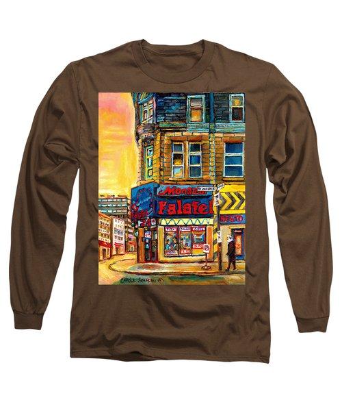 Monsieur Falafel Long Sleeve T-Shirt