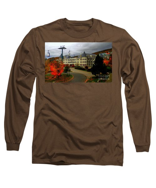 Mont Tremblant,quebec,canada Long Sleeve T-Shirt