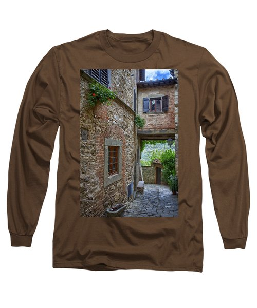 Montefioralle Tuscany 2 Long Sleeve T-Shirt