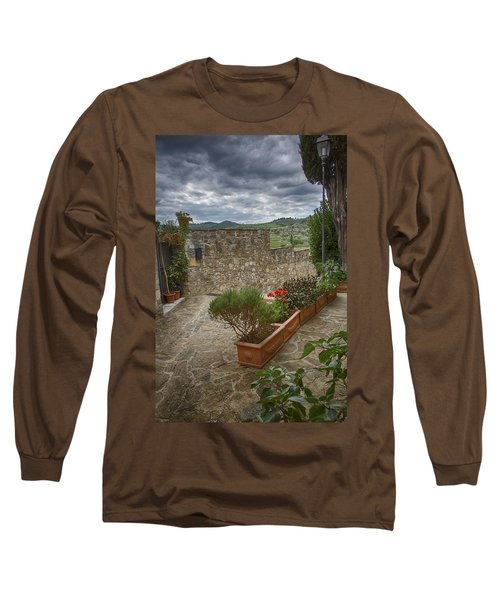 Montefioralle Tuscany 4 Long Sleeve T-Shirt