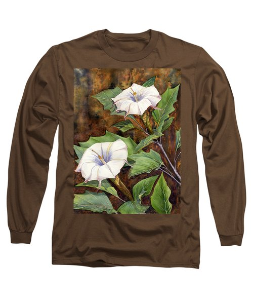 Moon Lilies Long Sleeve T-Shirt
