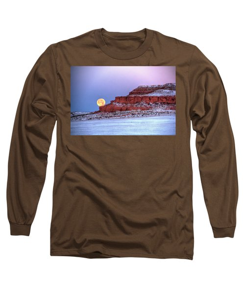 Moon Of The Popping Trees Long Sleeve T-Shirt