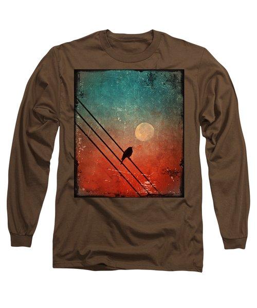 Moon Talk Long Sleeve T-Shirt by Tara Turner
