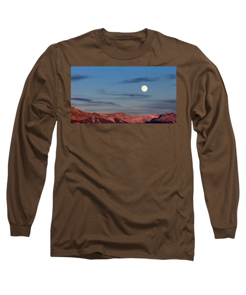 Moonrise With Afterglow Long Sleeve T-Shirt