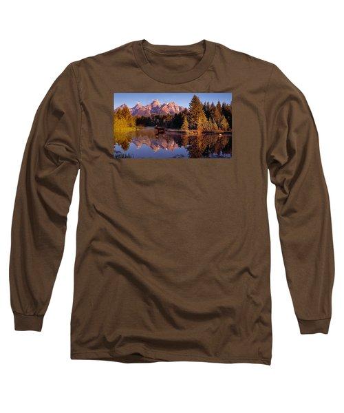Moose Tetons Long Sleeve T-Shirt