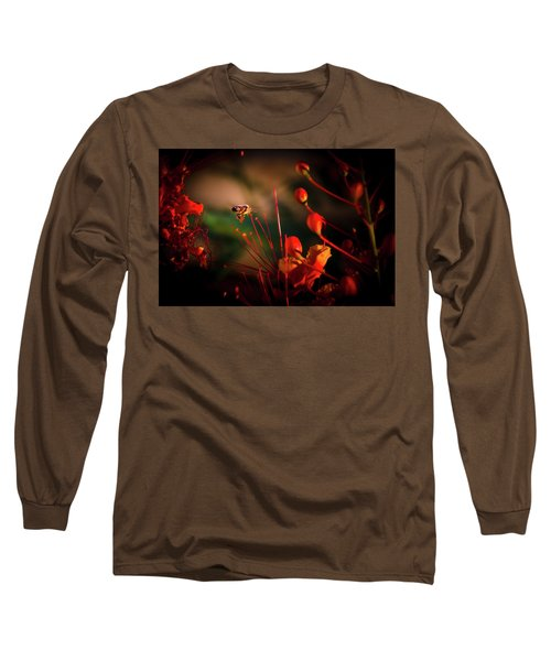 Morning Flight Long Sleeve T-Shirt by Mark Dunton