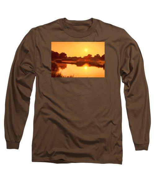 Morning Glory Long Sleeve T-Shirt by Nadia Sanowar