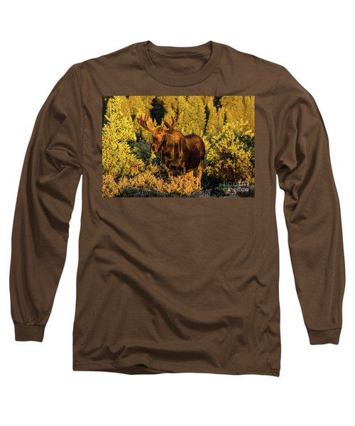 Morning Moose Long Sleeve T-Shirt