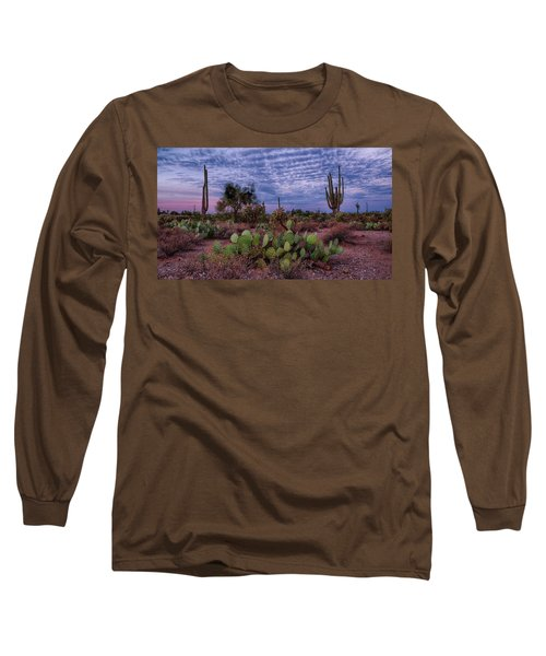 Morning Walk Along Peralta Trail Long Sleeve T-Shirt