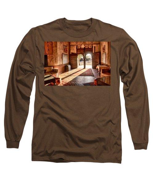 Moroccan Kasbah Long Sleeve T-Shirt by Kathy Adams Clark