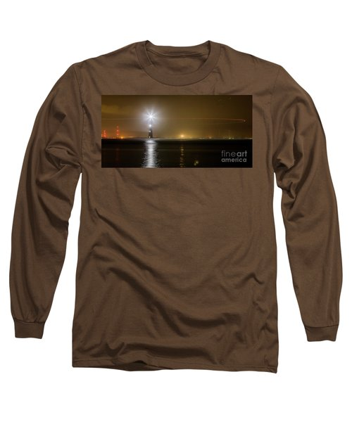 Morris Island Light House 140 Year Anniversary Lighting Long Sleeve T-Shirt