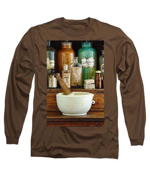 Mortar And Pestle Long Sleeve T-Shirt