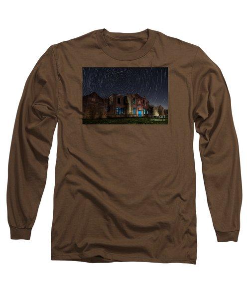Mosheim Texas Schoolhouse Long Sleeve T-Shirt by Keith Kapple