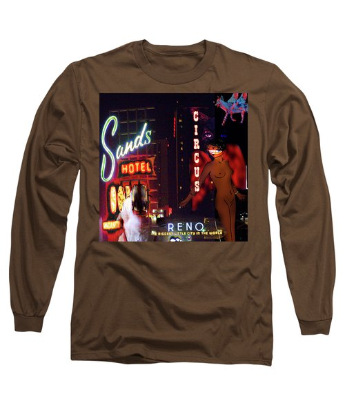 Motel Variations Angels Long Sleeve T-Shirt by Ann Tracy