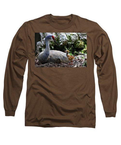 Mother Listening Long Sleeve T-Shirt