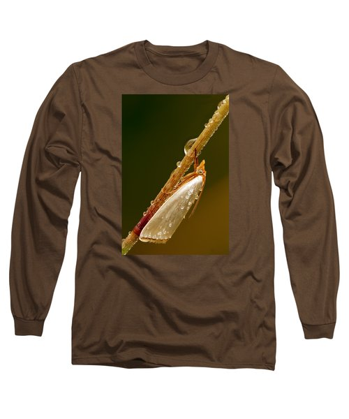 Mother-of-peal Moth Long Sleeve T-Shirt