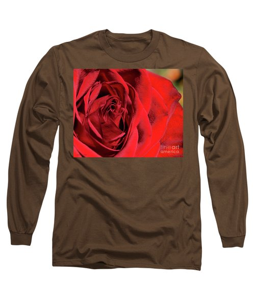 Mother's Day Rose Long Sleeve T-Shirt