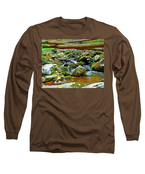 Mountain Appalachian Stream 2 Long Sleeve T-Shirt