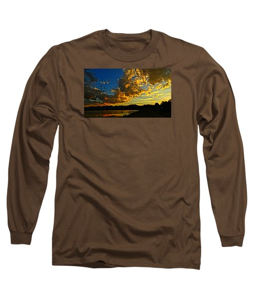 Mountain Colour Long Sleeve T-Shirt by Eric Dee