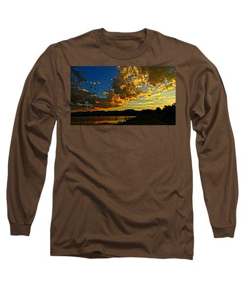 Mountain Colour Long Sleeve T-Shirt