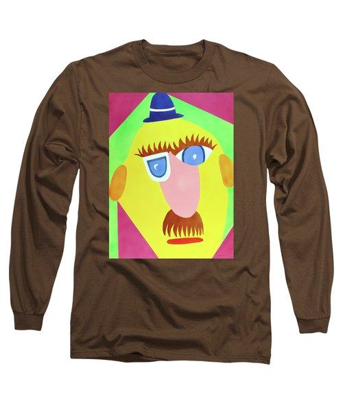 Mr. Strangefellow Long Sleeve T-Shirt by Thomas Blood