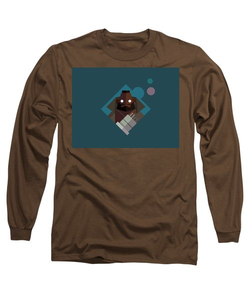 Long Sleeve T-Shirt featuring the digital art Mr. Wallace by Michael Myers